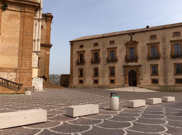 Domplatz auf der piazza armerina