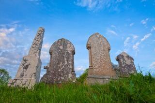 Donegal friedhof hdr historisch