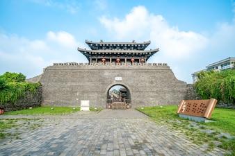 Dongguan Street, Yangzhou, Zhejiang, China, 07,212018. Yangzhou ist eine berühmte historische, kulturelle und