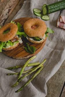 Donut-sandwiches