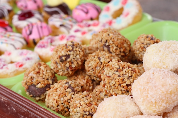 Donuts bei street food