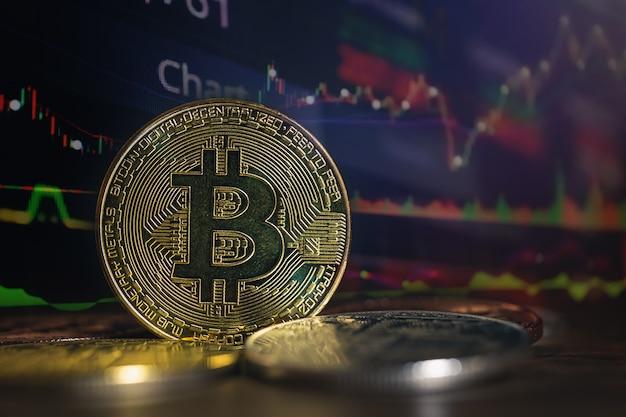 Doppelbelichtung von bitcoin im wirtschaftswachstum