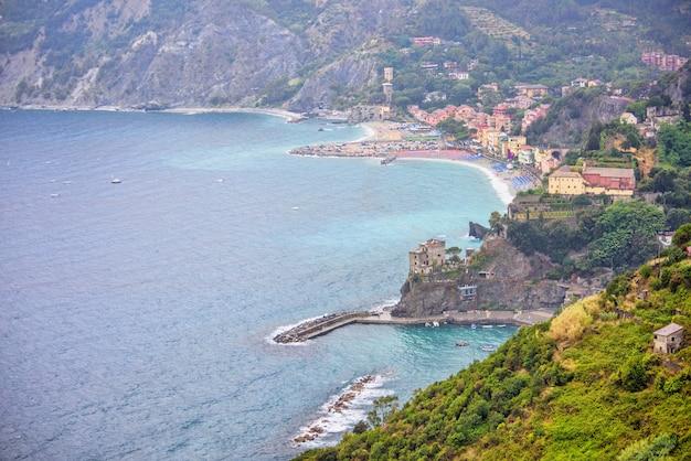 Dorf monterosso al mare, cinque terre, italien