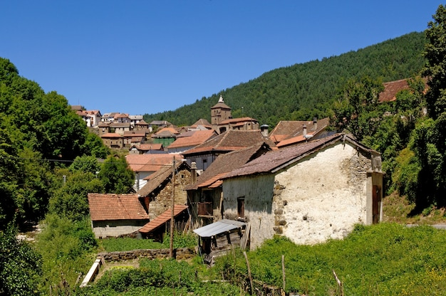 Dorf von ustarroz; navarra; egues valley, spanien