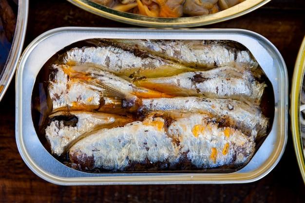 Dose dosenöl sardinen
