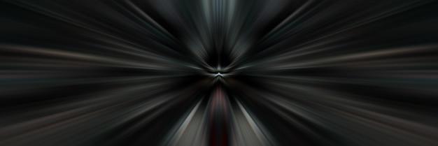 Drachen schwarz und weiß leuchten licht perspektive fokussierte linien auf den mittelpunkt