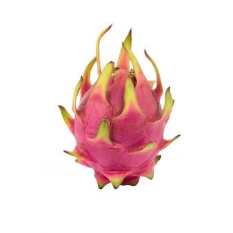 Drachenfrucht, isoliert auf weiss. (pitaya-frucht)