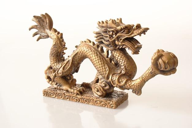 Drachenkaiser, osten, feuer, macht, gold, reichtum