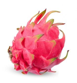 Dragotfrucht lokalisiert auf weißem beschneidungspfad