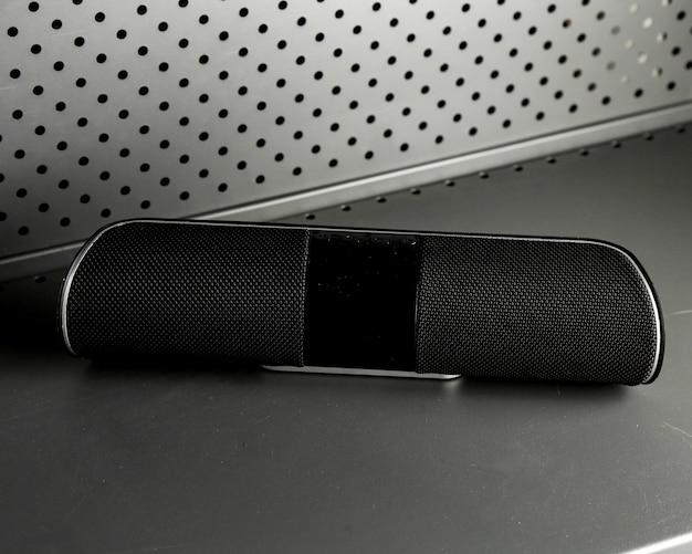 Drahtloser lautsprecherverstärker schwarz