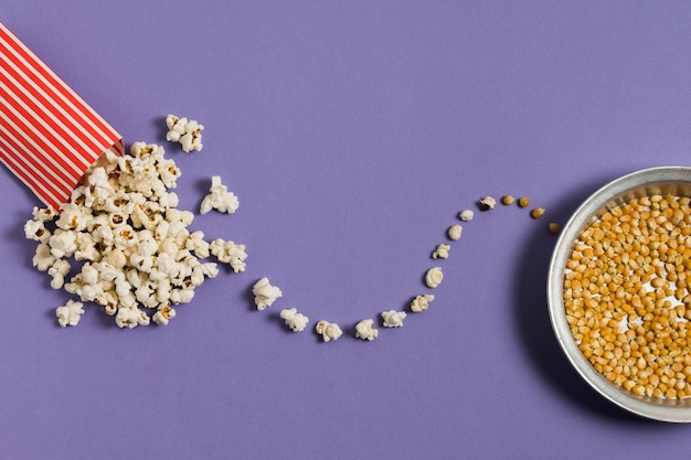 Draufsicht bpwl mit popcornmais