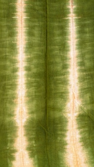 Draufsicht des bunten batiktextils