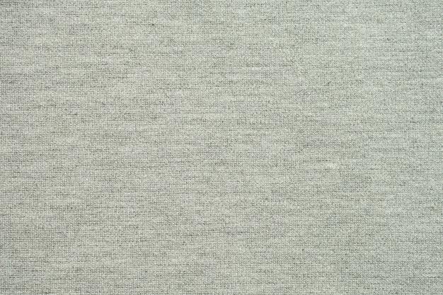 Draufsicht des grauen stoffbeschaffenheitshintergrundes