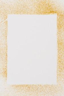 Draufsicht goldener texturhintergrund