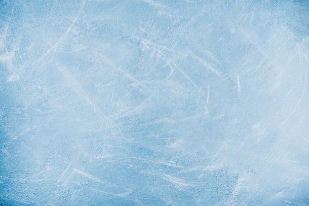 Draufsicht-kopienraum des hellblauen konkreten hintergrundes
