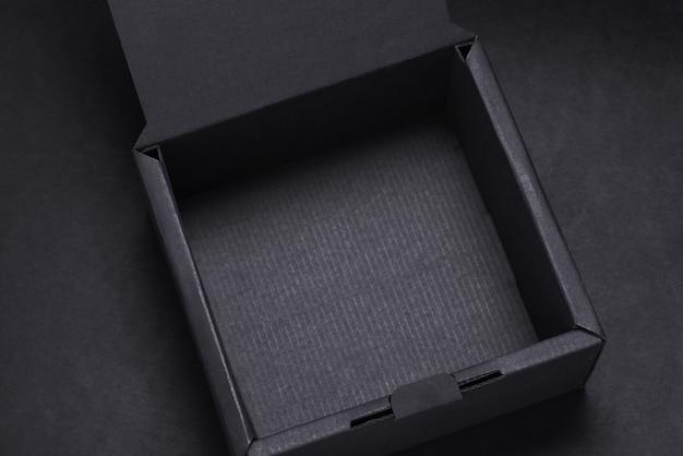Draufsicht leere blackbox, mocup