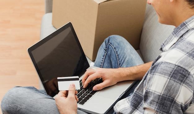 Draufsicht mann online bestellen