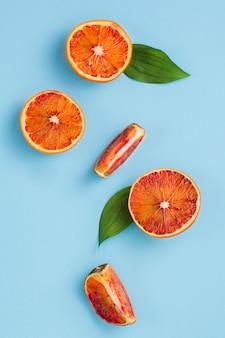 Draufsicht orangen