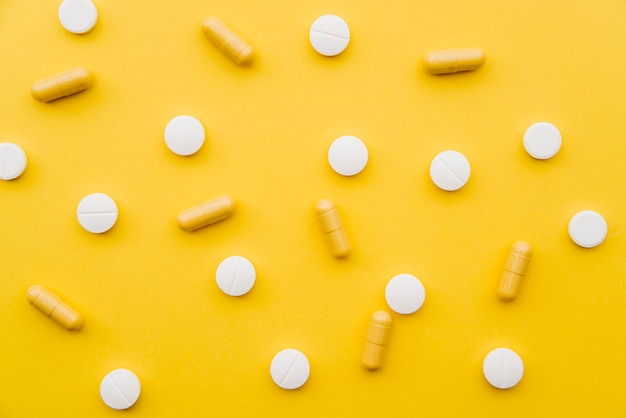 Draufsicht pillen