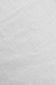 Draufsicht weiße tischdecke