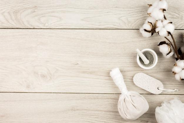 Draufsicht zusammensetzung von spa-objekten