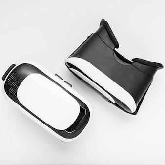 Draufsichtanordnung mit vr brille