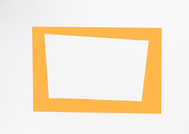 Draufsichtgelb-dekorrahmen