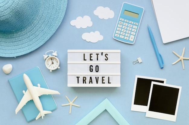 Draufsichtrahmen von reisendwerkzeugen