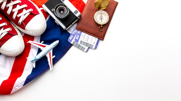 Draufsichtreiseelemente mit kopienraum