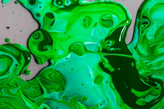 Draufsichtzusammensetzung mit grüner farbe