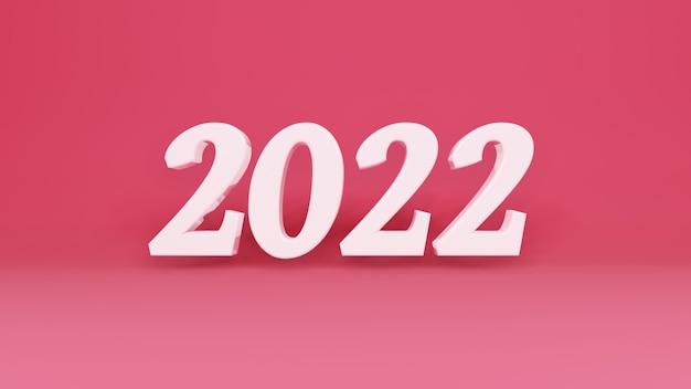 Dreidimensionales zeichen neues jahr 2021 zweitausend einundzwanzig jahr