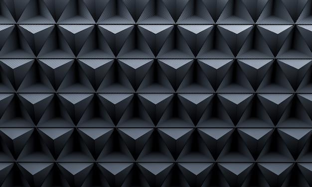 Dreieck kohlenstoff hintergrund