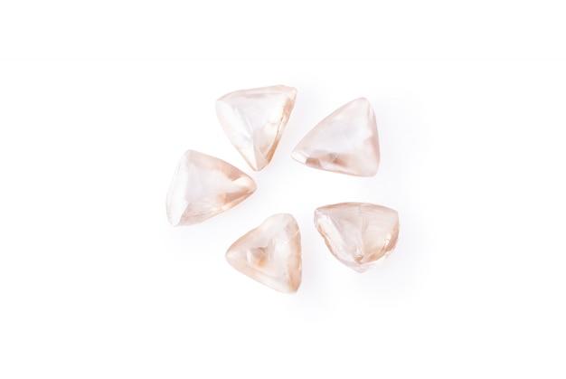 Dreieckige diamanten