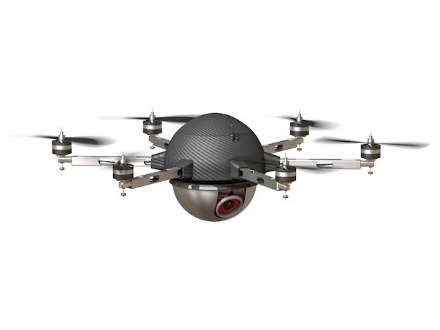 Drohne ausspionieren
