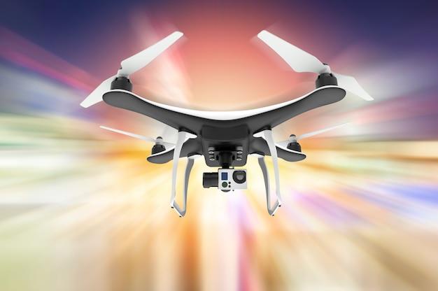 Drohne mit digitalkamera fliegen