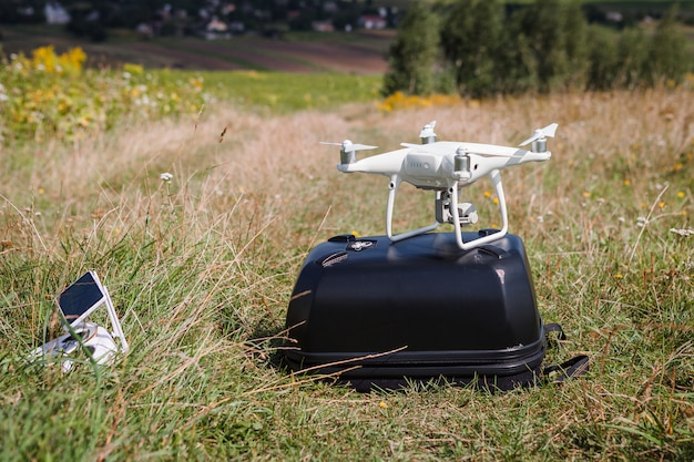 Drohnen im feld