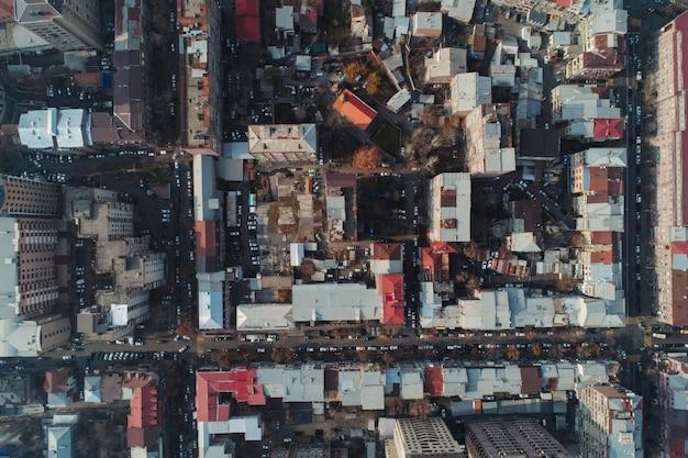 Drohnenaufnahme von armenien eriwan