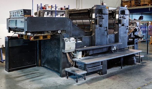 Druckertintenmaschine rotationsdruck
