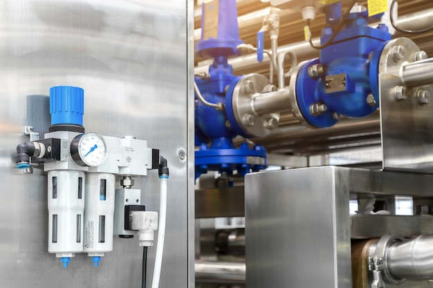 Druckluftfilter regler schmierstoffgeber.