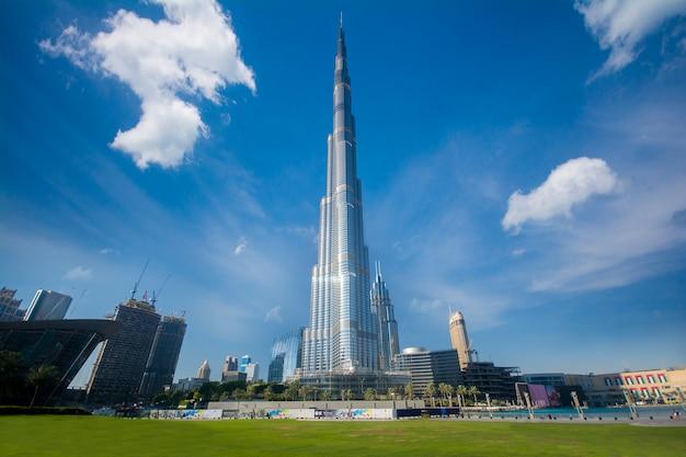 Dubai burj khalifa gebäude