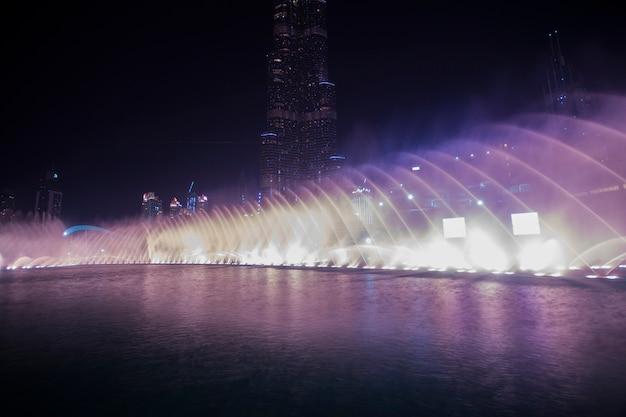 Dubai-tanzenwasserbrunnen