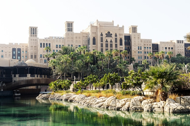 Dubai, vereinigte arabische emirate, 15. september 2021, hotel madinat jumeirah, mina a salam tagsüber