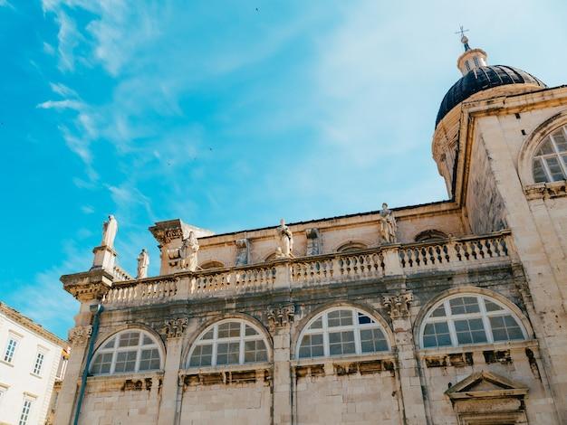 Dubrovnik altstadt kroatien innerhalb der stadtansichten der straßen