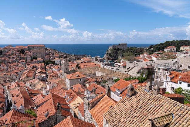 Dubrovnik blick von der burg