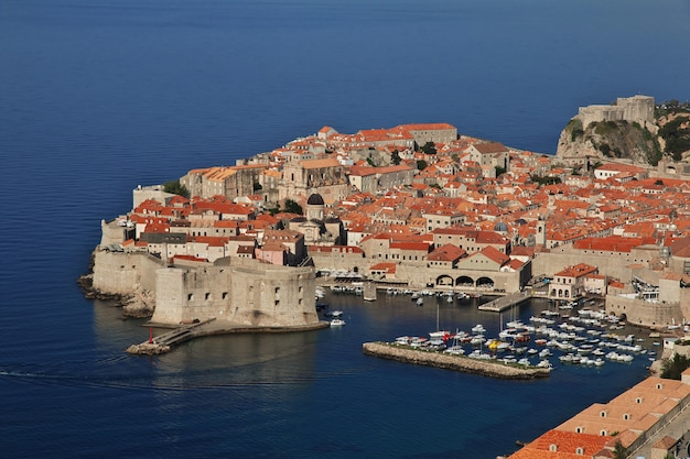 Dubrovnik stadt an der adria, kroatien