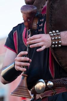 Dudelsack-musikinstrument