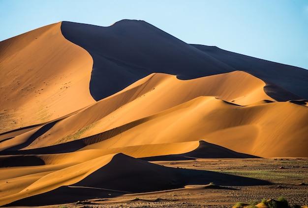 Dünen der wüste sossusvlei, afrika