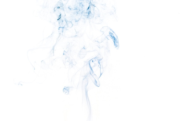 Dünner blauer rauch