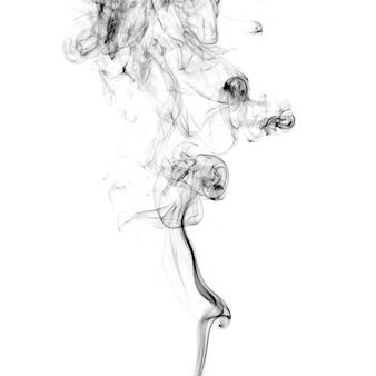 Dünner schwarzer rauch