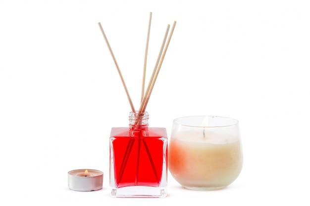 Duftdiffusor flaschenset mit aromasticks (rohrdiffusoren)